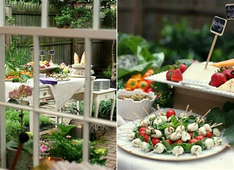 Intimate Garden Cocktail Party {guest Feature