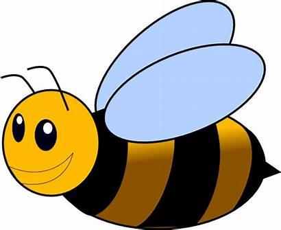 Bee Bumble Clip Clker Clipart Vector