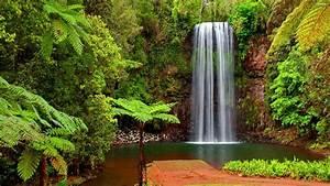 Waterfall Desktop Backgrounds ·①