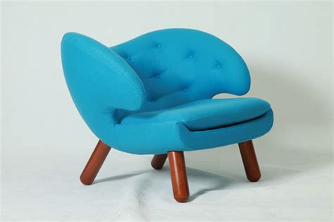 finn juhl and pelican chair model 45 chair and poet sofa