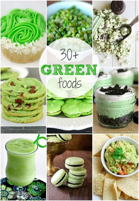 Green Food For St Patricks Day Creations By Kara
