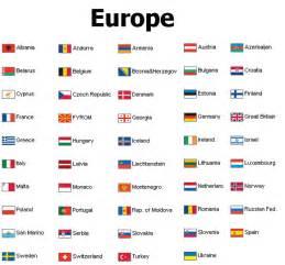 List All European Countries