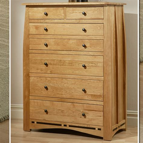 kitchen cabinet fittings trend manor bedroom 2507 7 drawer cherry chest 2507