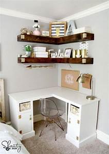 15, Diy, Corner, Desk, Ideas, With, Step, By, Step, Plans, U22c6, Diy, Crafts