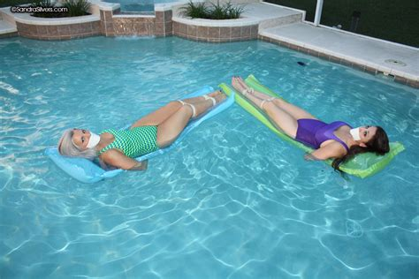 Sandra Orlow Topless Pool