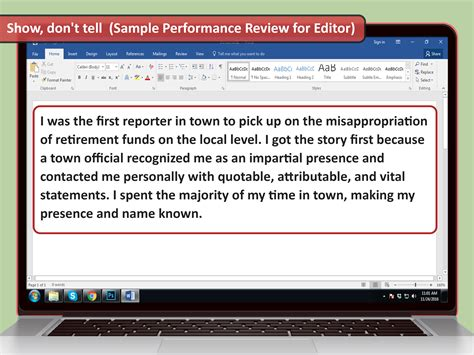 How To Write Your Own Performance Review (with Sample Reviews