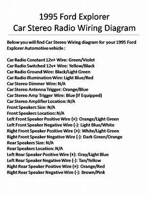 1995 Ford Explorer Radio Wiring Diagram Wiring Diagram Energy Make A Energy Make A Cfcarsnoleggio It