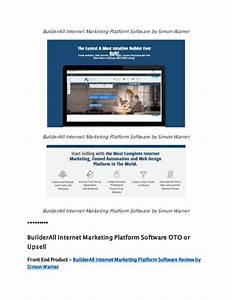 BuilderAll Internet Marketing Platform Software Review ...