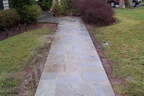 pictures of walkways flagstone walkway professional stone work silver spring md phone 240 644 4706