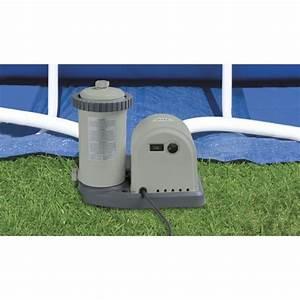 Filtre A Piscine Intex : pompe 5678 l h avec filtre pour piscine intex ~ Dailycaller-alerts.com Idées de Décoration