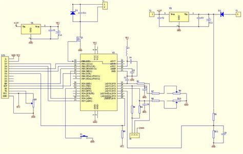 Voltmeter Ammeter Lcd Panel Electronics Lab