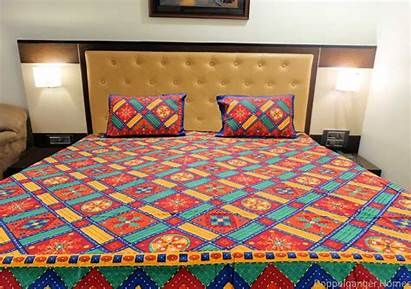Embroidery Kantha Bed Sheet Double Discount
