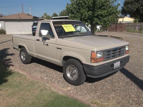 ford ranger pickup  cyl spd  sale