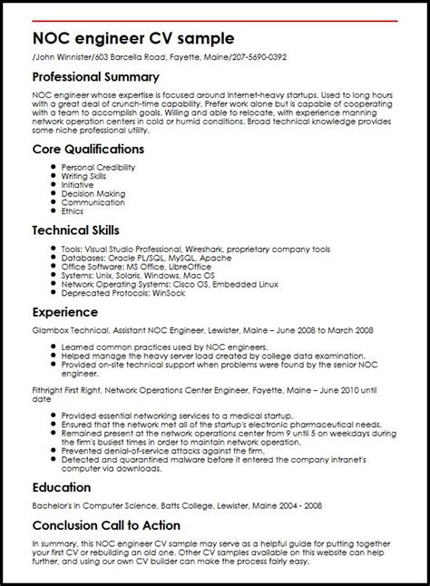 Lab manager resume