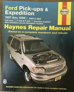 Haynes Repair Manual 36059 Lincoln Ford Pick Ups