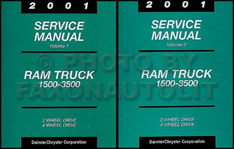 online car repair manuals free 2001 dodge ram van 3500 regenerative braking 2001 dodge ram truck repair shop manual original gas diesel pickup