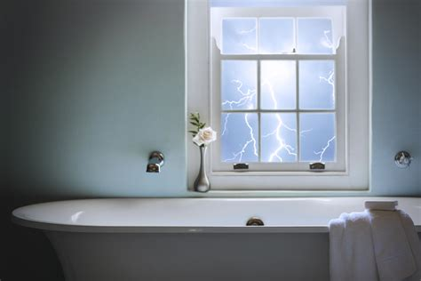 Shower During A - is it dangerous to bathe during a thunderstorm