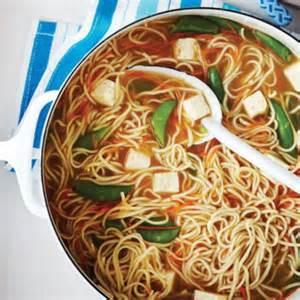 Soupy Asian Noodles
