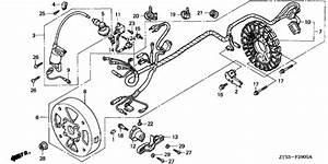 Ignition Coil  Generator  1  For 0 Honda Eu10i