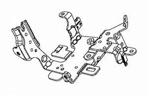 Fiat 500l Bracket  Wiring