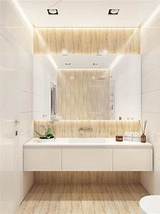 similarly simple designs with a bright and cheerful tone With bathroom interior