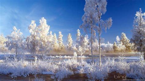 Winter Landscape Wallpapers  Wallpaper Cave