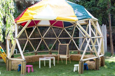 geodätische kuppel bausatz raffpavillon selber bauen pavillon selber bauen anleitung 25 elegante gestaltungsideen