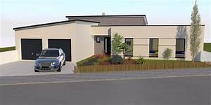 Prix Toiture 80m2 : plan maison plain pied toit monopente ~ Melissatoandfro.com Idées de Décoration