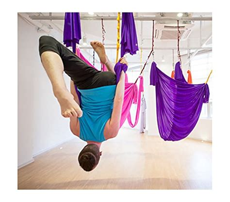 dasking premium aerial yoga hammock kit flying yoga silk