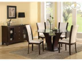 glass dining room table sets glass furniture table designs