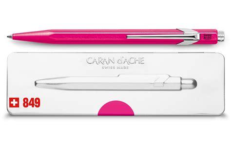 Ballpoint Pen 849 Popline Fluorescent Purple With Case