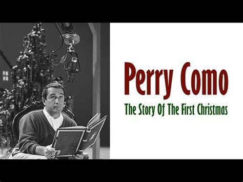 perry como christmas lyrics perry como the story of the first christmas 1959