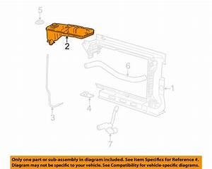 Oem Radiator Overflow Reservoir Tank Ford Mustang Gt 2001