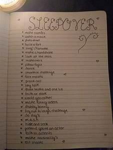 Ideas For Things To Do At A Sleepover Sleepoverideas