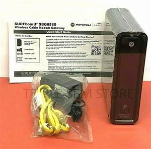 Motorola Sbg6580 Docsis 3 0 Wireless Cable Modem Router