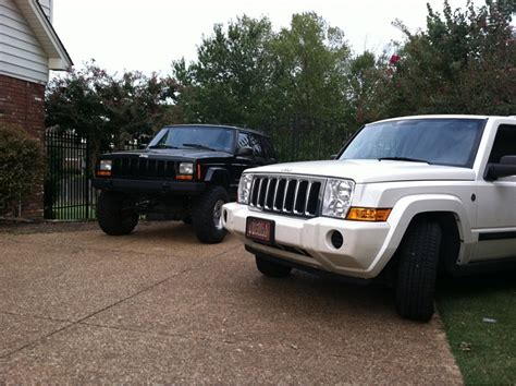 jeep commander vs what do people think of the jeep commander jeep