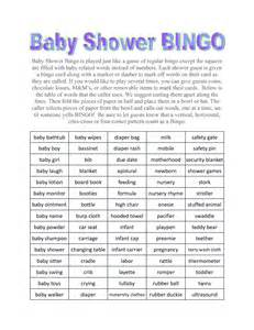 Funnest Baby Shower Games