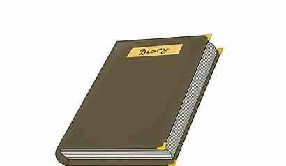 Diary Clipart Clip Bogdan Costea Cliparts Svg
