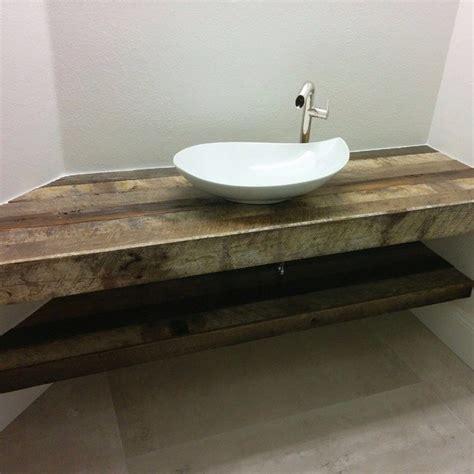 20 Bathrooms With Wooden Countertops