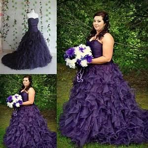 striking purple a line gothic halloween wedding dresses With halloween wedding dresses plus size
