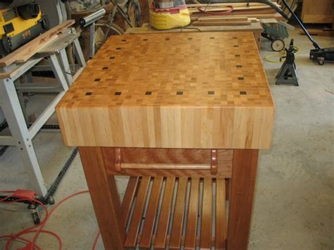 Butcher Block Table For Sister  By Stanley Coker