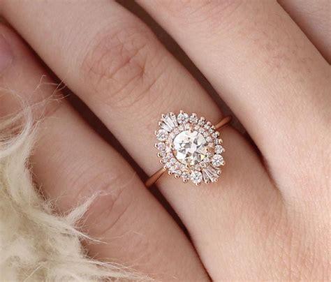 unique engagement rings fashiotopia
