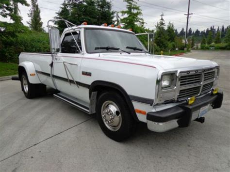 sell   dodge ram daully turbo  cummins diesel