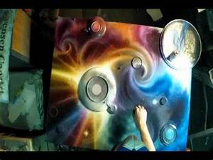 Champagne Supernova by Matt Sorensen spray paint art ...