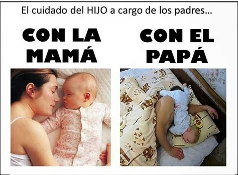Maybe you would like to learn more about one of these? Whatsapp Diferencia de cuidado del hijo, mamá y papá ...