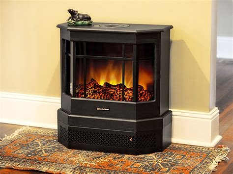standing electric stove fireplaces