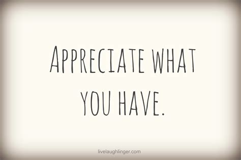 Not Appreciating What You Have Quotes