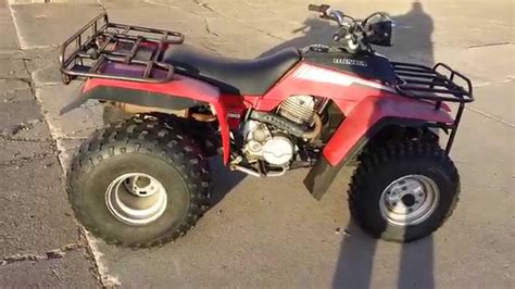 honda trx fourtrax youtube