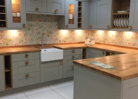 sage green cranbrook kitchen  fabulous oak features