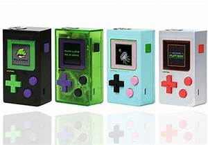 Gameboy Color Light Up Screen Wizman Puff Boy 200w Mod 51 99 Game Style Mod Cheap
